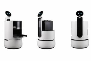 CES 2018 คึกคัก พบแอลจีโชว์ตัวสามหุ่นยนต์บริกรล่าสุดตระกูล CLOi