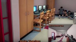 """สหรัฐฯ งัดเกมซิมูเลชัน ฝึก """"ครู"""" รับมือเหตุสังหารหมู่"""