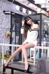 """Candice เน็ตไอดอลที่กำลังโด่งดังในใต้หวันและญี่ปุ่นจาก """"เรียวขา"""""""