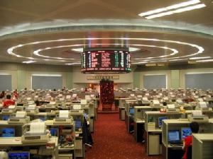 ตลาดหุ้นเอเชียปิดภาคเช้าปรับตัวลง หลังตลาดหุ้นสหรัฐอ่อนตัว-จับตาผลประกอบการ