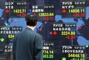 ตลาดหุ้นเอเชียปิดภาคเช้าเพิ่มขึ้น รับวอลสตรีททำนิวไฮ