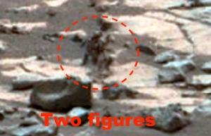 ดูให้แน่ใจ! นักล่า UFO อ้างยานโรเวอร์ของนาซาถ่ายติดเอเลี่ยนยืนอยู่บนดาวอังคาร