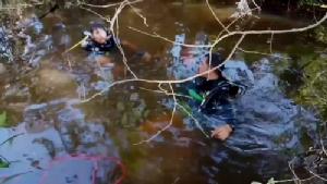 ชายวัย 53 ปี เมาได้ที่เดินพลัดตกสระน้ำกลางสวนผลไม้ดับ (ชมคลิป)