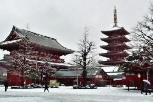 เรื่องวุ่น ๆ เมื่อหิมะตกในโตเกียว