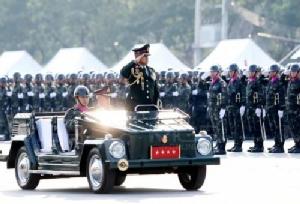 กองทัพจัดพิธีกระทำสัตย์ปฏิญาณตนต่อธงชัยเฉลิมพล เนื่องในวันกองทัพไทย