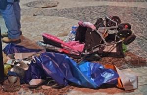 Car hits crowd at Brazil's Copacabana, killing baby