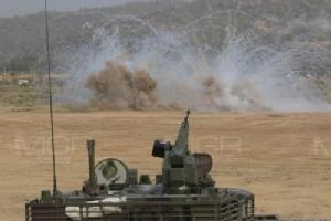ศูนย์การทหารม้า ซ้อมการแสดงสมรรถนะรถถัง VT-4 ที่ค่ายอดิศร จ.สระบุรี