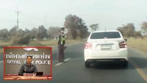 """สั่งตำรวจ 2 นายเข้ากรุ! พลาดจับรถบรรทุกแช่ขวา ชนท้าย """"ฮาวา"""" นักดนตรี"""