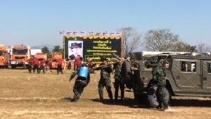 แม่ทัพภาคที่ 3 นำซ้อมแผนเตรียมพร้อมสู้หมอกควันปี 61 ชี้ป่าสงวน-อุทยานฯ จุดเสี่ยงตั้งเป้าลดปัญหาลง 40%