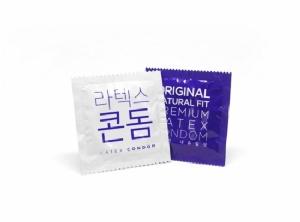 Premium latex condom