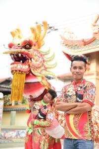"""""""เซ็นทรัล""""จัดใหญ่""""ตรุษจีน""""ปีหมา ชูไฮไลท์เชิดมังกรยาวที่สุดในเมืองไทย"""