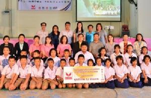กลุ่มเหล็กสหวิริยาสนับสนุนทุนการศึกษา 6 โรงเรียนที่บางสะพาน