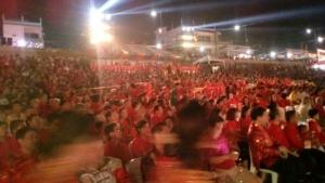 เริ่มแล้ว..คนปากน้ำโพใส่ชุดแดง-กี่เพ้าร่วมเปิดตรุษจีนแน่นหาดต้นเจ้าพระยา