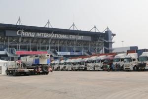 """รถแข่ง """"รอสซี-มาร์เกวซ"""" ถึงไทย!! จ่อลงสนามบิดวินเตอร์เทสต์ที่ บุรีรัมย์"""