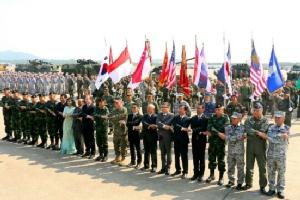 กองทัพไทย-สหรัฐฯ ร่วมเป็นเจ้าภาพเปิดฝึกซ้อมรบ ภายใต้รหัสคอบร้าโกลด์ 2018