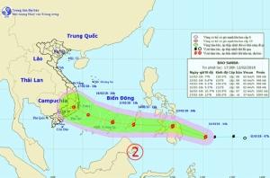 จับตาพายุโซร้อนลูกใหม่ ข้ามทะเลจีนใต้มาฉลองตรุษจีนสัปดาห์นี้