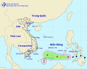 """ดีเปรสชั่น """"ซันบา"""" มุ่งหน้าอ่าวไทย อุตุฯเขมรเตือนฝนตกทั่วประเทศ"""