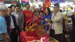 ตลาดเชียงใหม่คึกคักวันจ่ายตรุษจีน เทศบาลสุ่มตรวจสารปนเปื้อนสร้างความมั่นใจผู้บริโภค