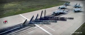 """ทัพฟ้าจีนบรรจุเครื่องบินรบล่องหน """"เจ-20"""" ร่วมชุดปฏิบัติการต่อสู้ทางอากาศ"""