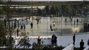 """ใสเกินไป! พนักงาน Apple หลายคนเดินชน """"กำแพงแก้ว"""" ที่สำนักงานใหญ่"""