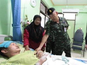 ผู้บัญชาการกองพลพัฒนาที่ 4 เผยต้องถอนกำลังทหารช่างชั่วคราวหลังเกิดเหตุระเบิดที่จะแนะ