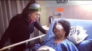 """""""ฮาย อาภาพร"""" ส่งกำลังใจให้คุณแม่รับการผ่าตัดดวงตา"""