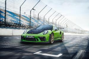 """ปอร์เช่ พร้อมเปิดตัวสุดแรง """"911 GT3 RS พิกัด520hp"""