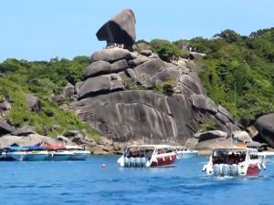 เฮ! แม่เต่าทะเลขึ้นวางไข่ 108 ฟอง บนหาดเล็ก เกาะสิมิลัน