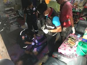 ผงะพบศพหนุ่มวัย 25 ปี ถูกยิงดับคาห้องพักในเมืองพัทลุง ตร.คาดขัดแย้งยาเสพติด
