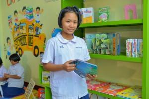 """CAT มอบความรู้นอกห้องเรียน สู่โรงเรียนขาดแคลน จ.ตาก ในโครงการ """"CAT 001 ปันน้ำใจ มอบห้องสมุด"""" ปี 7"""