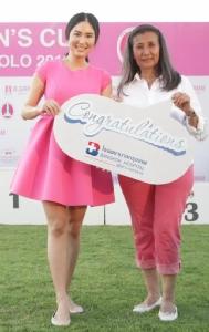 รวมพลังสู้ภัยมะเร็งเต้านม ควีนส์ คัพ พิงค์ โปโล 2018
