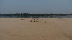 น้ำโขงลด! ชาวบ้านเปิดหาดดึงนักท่องเที่ยวโกยเงินห้วงสงกรานต์-หน้าร้อน