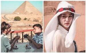 """หวานเรื่อยๆ """"แก้ว จริญญา"""" ควง """"บาส Better Weather"""" เที่ยวอียิปต์"""