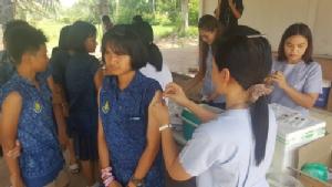 บุรีรัมย์ระดมฉีดวัคซีน ชาวบ้าน-นักเรียนกว่า 140 คนเสี่ยงติดเชื้อพิษสุนัขบ้า หลัง ด.ญ.วัย 14 ปีเสียชีวิต