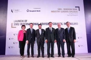 ธนาคารกรุงเทพ ร่วมกับ 'มหาวิทยาลัยบริหารจัดการสิงคโปร์'  จัดงาน 'SMU-Bangkok Bank Industry Leaders Dialogue'