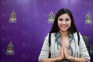"""ฮือฮา! มิสซิสยูนิเวิร์ส ตั้งพรรค """"พลังคนรุ่นใหม่ไทย"""" พร้อมเป็นหัวหน้าเอง"""