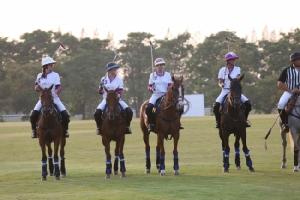 """""""มาเรงโก้"""" คว้าแชมป์ไปครองเป็นครั้งแรก ในการแข่งขันกีฬาขี่ม้าโปโลการกุศลพลังผู้หญิงเพื่อผู้หญิงระดับเอเชีย  """"King Power International Ladies Polo Tournament 2018"""""""