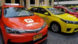 ชนช้าง Grab-Uber จุดพลุ LINE TAXI แจกโค้ดส่วนลดนั่งฟรีทั่วกรุง 120 บ.