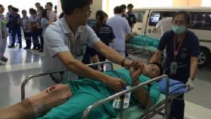 รพ.มหาราชนครเชียงใหม่ซ้อมแผนเสมือนจริง เตรียมพร้อมแพทย์พยาบาลรับสงกรานต์