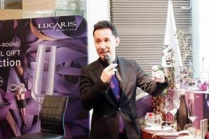 ลูคาริสจับมือสวารอฟสกี้ เสริมความหรูแก้วไวน์คริสตัล