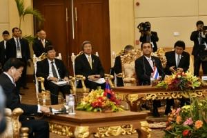 ผู้นำไทย-กัมพูชาย้ำความร่วมมือทุกด้านเพิ่มการค้า-ลงทุน
