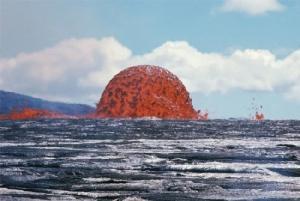 """มหัศจรรย์ธรรมชาติ เผยภาพ """"น้ำพุลาวา"""" สูง 20 เมตร!"""