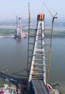 จีนเฮ! ทำสถิติหอคอยสะพาน สูงสุดในโลก