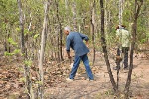 ลงพื้นที่พิสูจน์การทำงานแอปฯ ระวังไฟป่า