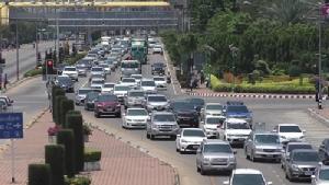 แนะใช้เส้นทางถนน 340 เลี่ยงรถติดถนนสายเอเชียมุ่งหน้าเข้ากรุงเทพฯ