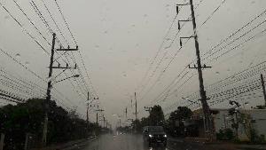 มาตามนัด! ฝน-พายุลูกเห็บถล่มเชียงใหม่-เชียงราย หลังสงกรานต์(ชมคลิป)