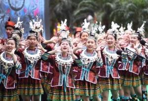 ชมบรรยากาศเทศกาลขับร้องลำนำของชนชาติจ้วง มณฑลกว่างซี