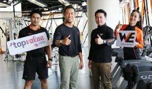WE Fitness จับมือ ท็อปแวลูช้อปปิ้งออนไลน์ ต้อนรับซัมเมอร์ มอบสิทธิพิเศษ 2 ต่อ สำหรับสมาชิกที่รักสุขภาพ