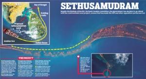 จาก Sethusamudram Shipping Canal ถึงคอคอดกระ