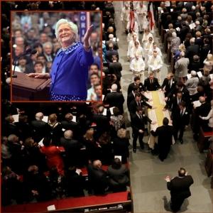 "In Pics : ""บาร์บารา บุช"" พิธีศพสมเกียรติในฮุสตัน แขกวีไอพีคับคั่ง แต่ ""ทรัมป์"" ไม่มา"